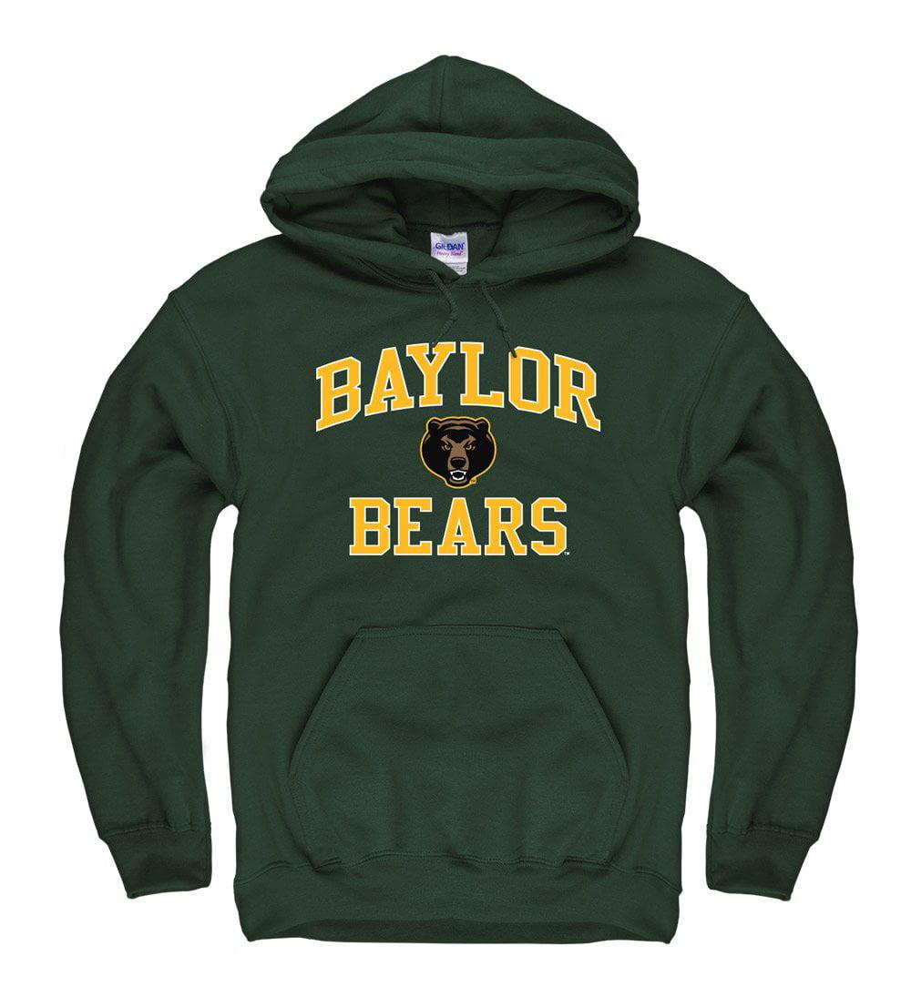 Baylor Bears  Men's Hoodie Sweatshirt- Green