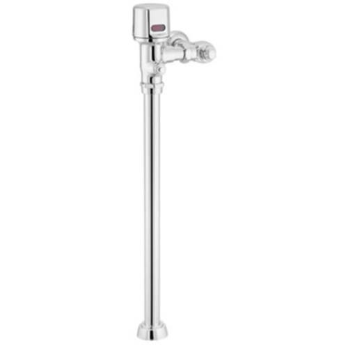Moen 8313 M-POWER 1.6 GPF Toilet Flushometer with 1-1/2' Top Spud, Chrome
