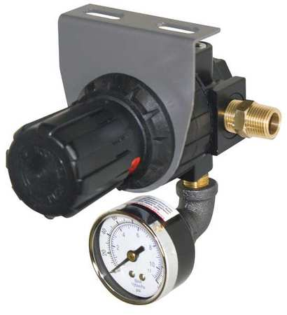 411116-S Regulator, Pressure with Gauge