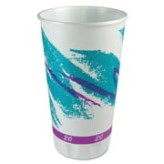 Solo Cup Company Trophy Plus 20 Oz Jazz Design Dual Temp Cups, 750 count