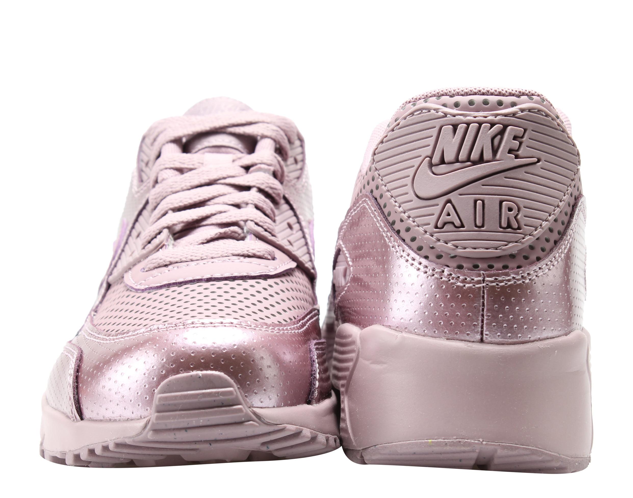 Nike Air Max 90 SE LTR (GS) Elemental Rose Big Kids Running Shoes 859633-600