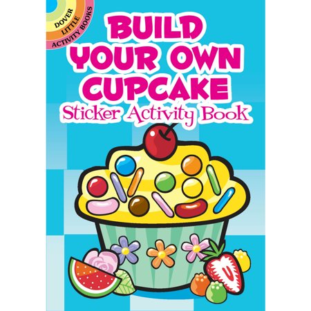 Build Your Own Cupcake Sticker Activity Book](Adult Sticker Book)