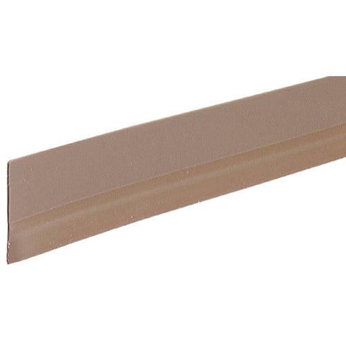 M-D Building Products  05603  Door Sweep  Door Sealing  Vinyl  ;Brown