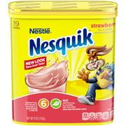 NESQUIK Strawberry Powder 8 oz. Tub