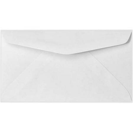#6 1/4 Regular Envelopes (3 1/2 x 6) - 24lb. Bright White (1000 Qty.)
