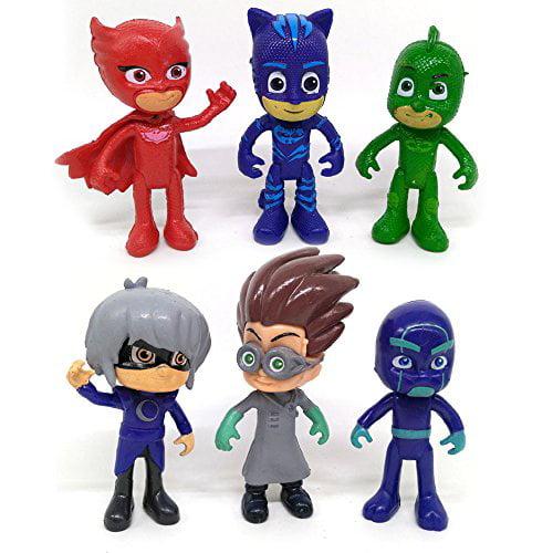 6pcs lot PJ Masks Figures Catboy Owlette Gekko Cloak Action Figures Toys Kids Gifts... by