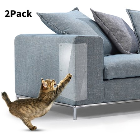 Smart Novelty 2Pcs Pet Cat Scratch Guard Mat Cat Scratching Post Furniture Sofa Protector (Car Novelties)