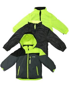London Fog Boys Heavy Weight System Jacket Grey 14/16 (Winter Coat)