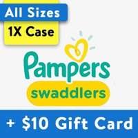 [Buy 1, Get $10 Gift Card] Pampers Swaddlers Diapers, OMS Pack (Choose Your Size)