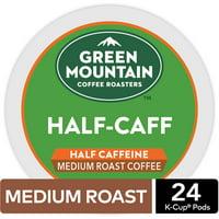 Green Mountain Coffee Half-Caff, Keurig K-Cup Pod, Medium Roast, 24ct