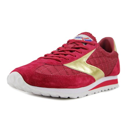 Brooks Vanguard Women  Round Toe Synthetic Burgundy Running Shoe