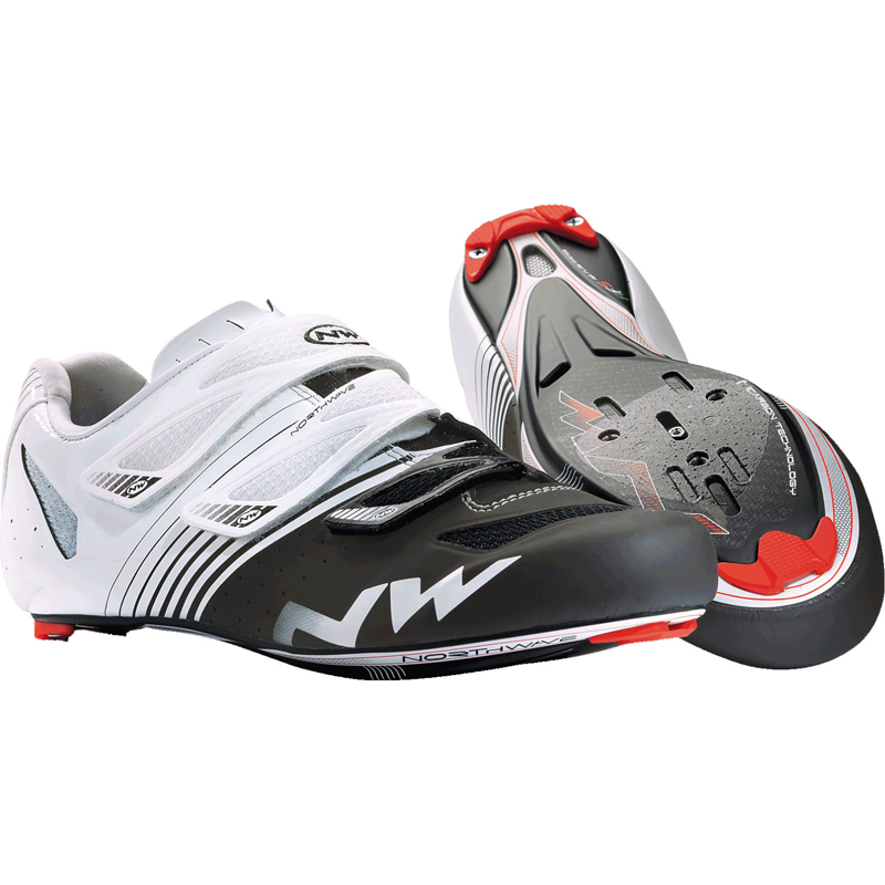 Northwave Torpedo 3S Mens Road Cycling Shoes Size EU 47 White / Black Race Bike