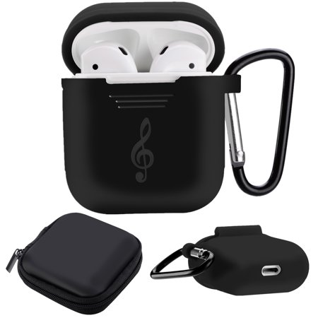 9fbf5b40c9a Moretek AirPods Case Protective Silicone Cover and Skin for Apple ...