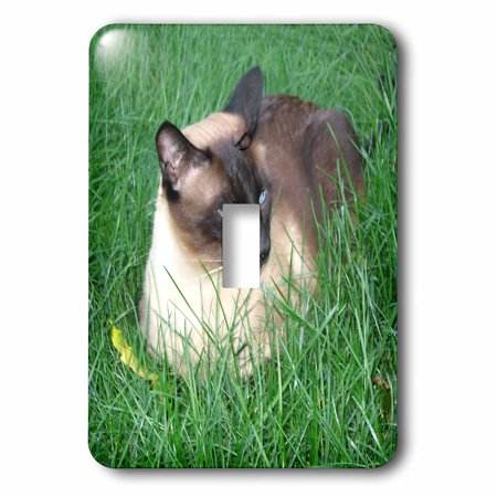3dRose Siamese Cat Single Toggle Switch lsp 4496 1