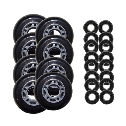 Outdoor ROLLER HOCKEY WHEELS Youth HILO ABEC 5 Bearings
