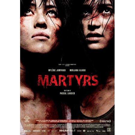 Martyrs 2008 27x40 Movie Poster Italian Walmart Com Walmart Com