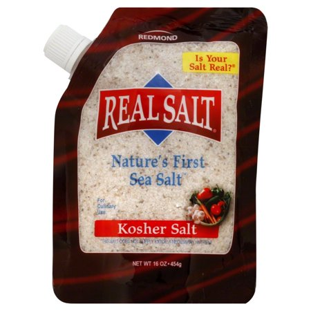 RealSalt Real Salt Kosher Sea Salt Pouch - 16 Ounce