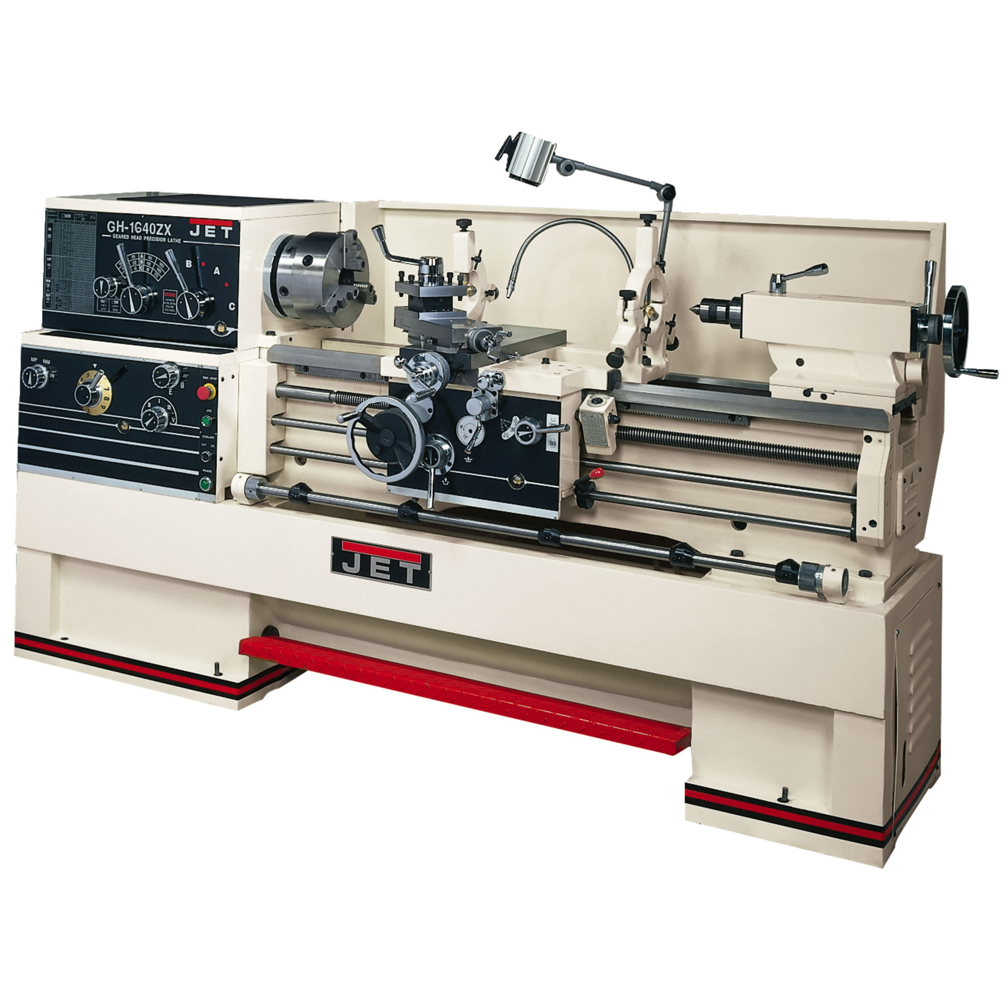 JET GH-1880ZX Large Spindle Bore Lathe With ACU-RITE 200S DRO