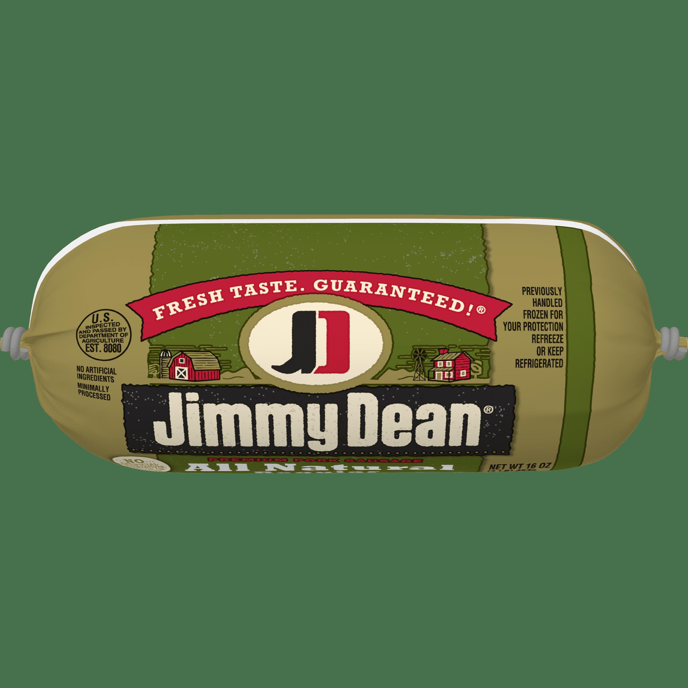 Jimmy Dean® Premium All-Natural Pork Sausage Roll, 16 oz.