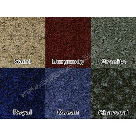 28 oz. Pontoon Boat Carpet - 8' Wide x Various Lengths (Choose Your Color!) (Granite, 8' x 10') ()