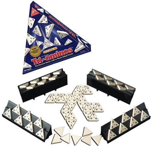 Tri-Ominos Game, USA, Brand Pressman Toy by