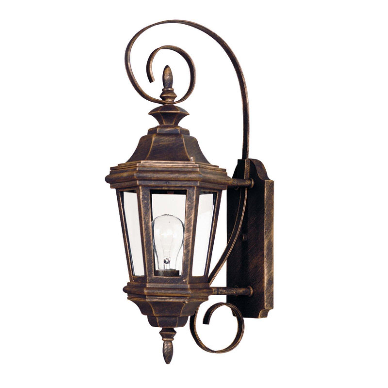 Kenroy Home Estate Antique Patina 1 Light Small Wall Lantern