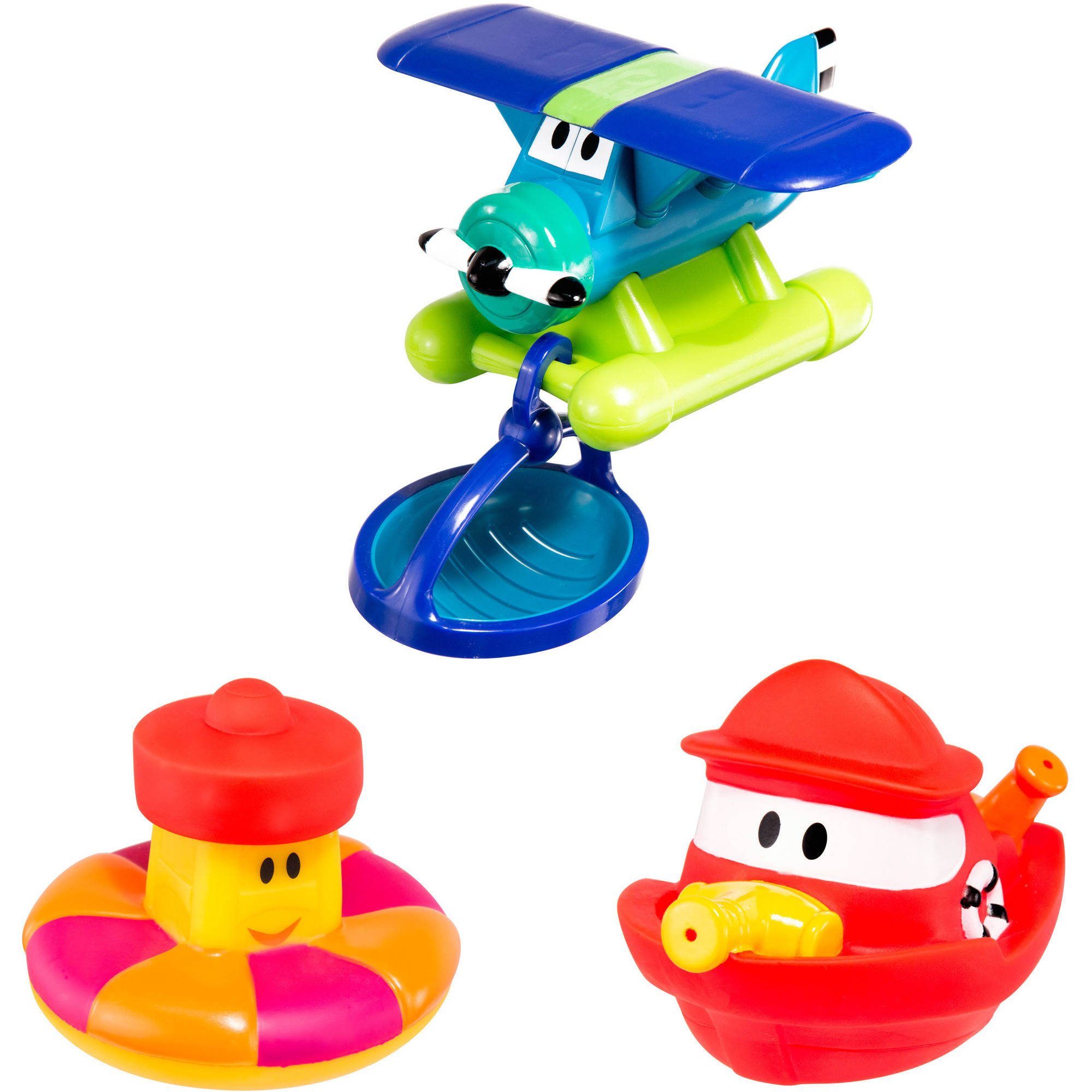 Spark Rescue Set Bath Toy, 4 Pieces by Sassy