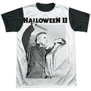 Halloween II Horror Thriller Movie Michael's Revenge Adult Black Back T-Shirt
