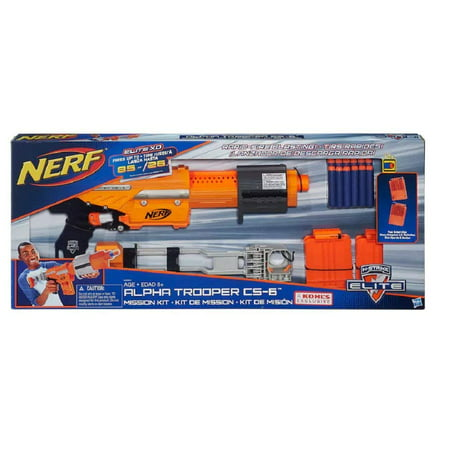 Nerf N-Strike Elite Alpha Trooper CS-6 Mission (Nerf N Strike Elite Tactical Vest Kit)