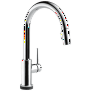 Delta Trinsic Single Handle Pull-Down Kitchen Faucet with Touch2O Technology in Chrome 9159T-DST
