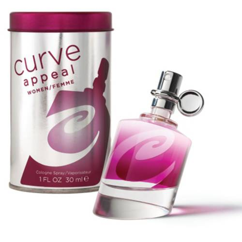 Curve Appeal Eau de Toilette Spray for Women, 1 fl oz
