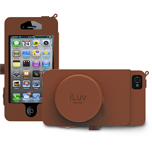 iLuv Camera Case with Cord Management Pocket for iPhone 5