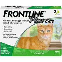 Cat Medication & Health Supplies: FrontlinePlus for Cats