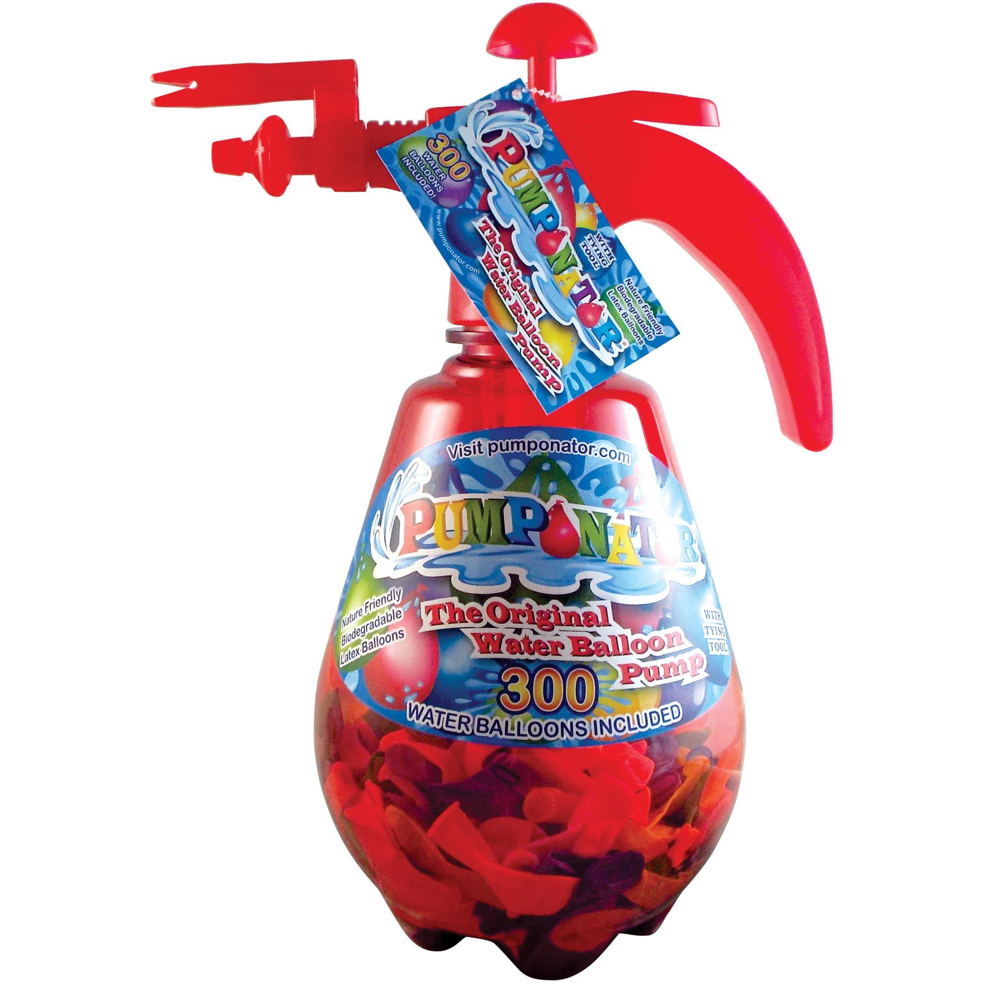 Pumponator Clear PUMP0212R Balloon Pump, Red