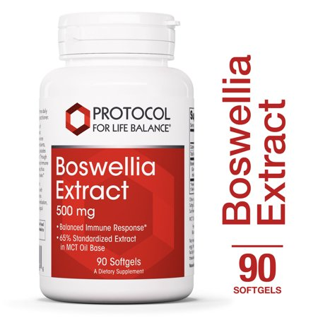 Protocol For Life Balance Boswellia Extract 500mg 90 (Best Vitamins For Aching Joints And Muscles)