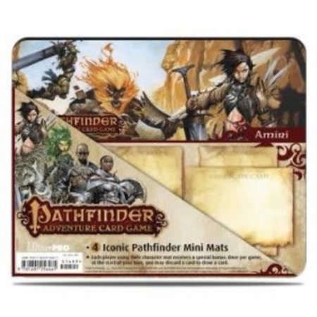 Pathfinder Iconic Mini Mat 4 Pack Multi Colored