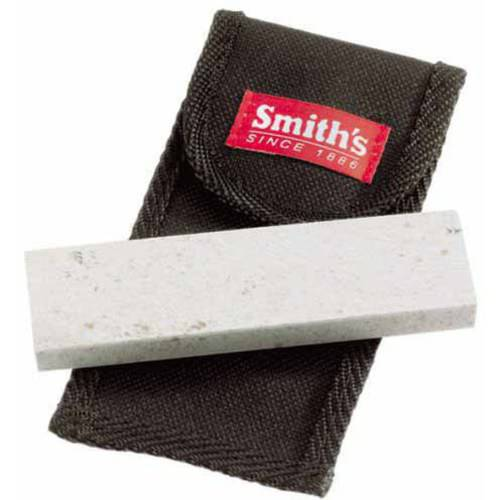 Smiths Arkensas Stone with Pouch, 4""