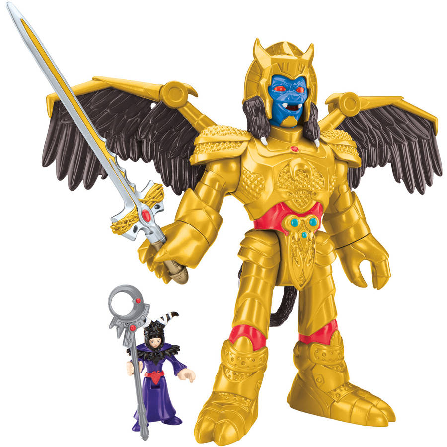 IMaginext Power Rangers Goldar and Rita by FISHER PRICE
