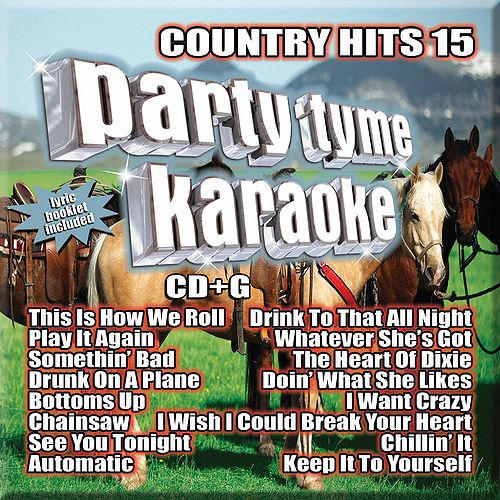 Party Tyme Karaoke: Country Hits 15