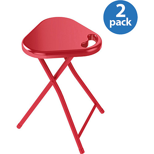 Atlantic Square Accent Table or Stool 2-Pack, Multiple Colors