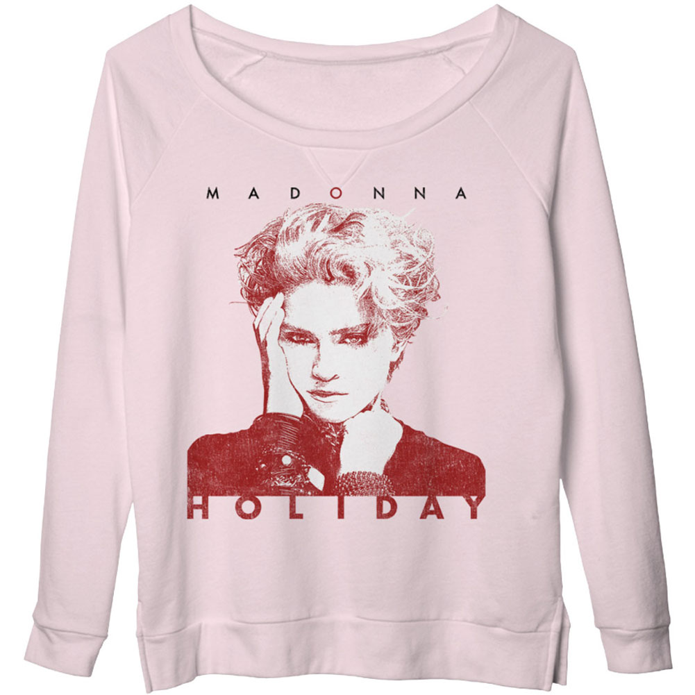 Madonna  Holiday Girls Jr  Long Sleeve Light