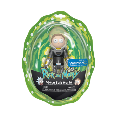 Walmart Exclusive Funko Action Figure: Rick & Morty - Metallic Space Suit Morty