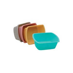 Wash Basin, Rectangular, 7 Quart, Rose [Sold by the Each, Quantity per Each : 1 EA, Category : , Product Class : ]
