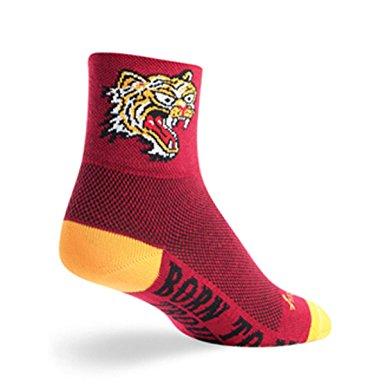 "Socks - SockGuy - Classic 3"" Hell Cat S/M Cycling/Running"