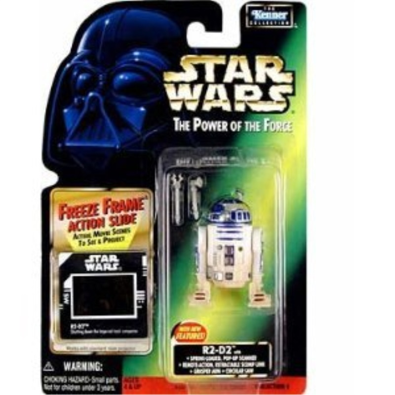 Star Wars: Power of the Force Freeze Frame > R2-D2 with Pop-Up Scanner (Imperial Slide Variant) Action Figure