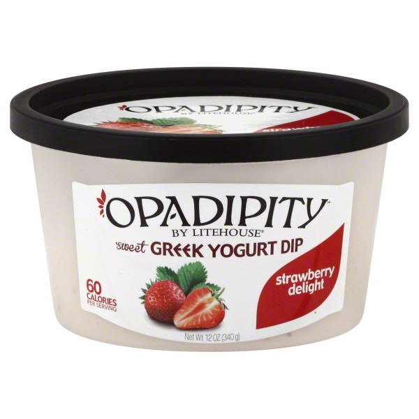 Opadipity™ by Lighthouse® Strawberry Delight Sweet Greek Yogurt Dip 12 oz. Tub