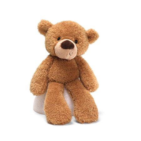 Fuzzy Teddy Bear Stuffed Animal Plush, Beige, 13.5