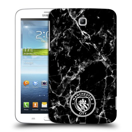 OFFICIAL MANCHESTER CITY MAN CITY FC 2017/18 MARBLE BADGE HARD BACK CASE FOR SAMSUNG TABLETS 1