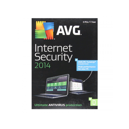 AVG Internet Security + PC Tune Up 2014 - 3 Users 1
