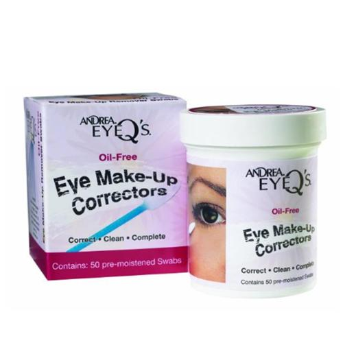 Andrea Eye Q's Oil-Free Make-Up Correctors 50 ea (Pack of 6)